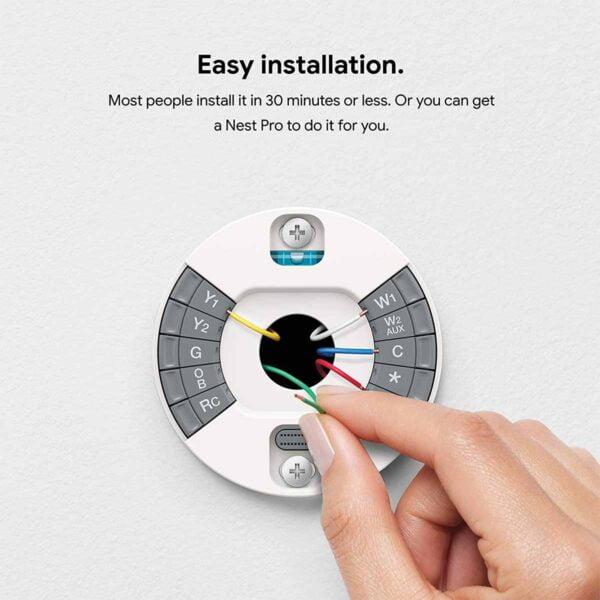 Termostat Google Nest Learning
